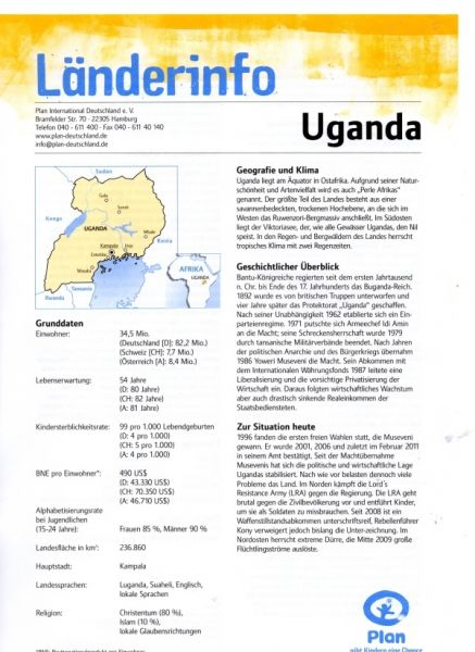 Informationen Uganda - Plan-Brief - Teil1